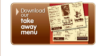 Download the Vanilla take away menu